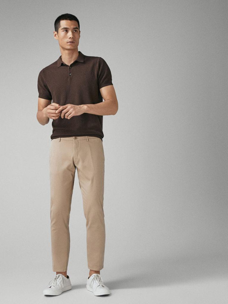 Pantalon Caqui Hombre Con Camisa Tienda Online De Zapatos Ropa Y Complementos De Marca